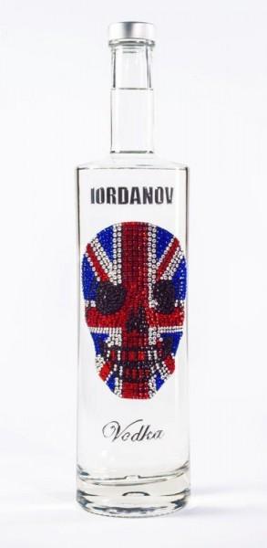 Vodka UK Union Jack Totenkopf