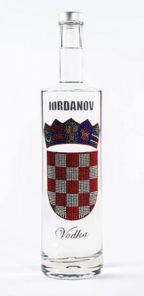 Skull / Totenkopf Wodka Croatia / Kroatien 0,7L