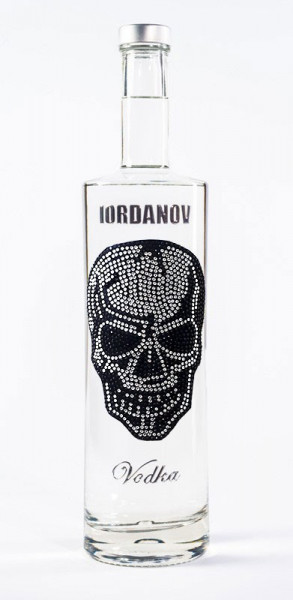 Wodka Bad Skull Silber