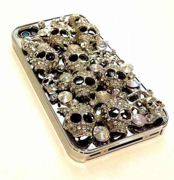 iPhone4 Case Silberfarben