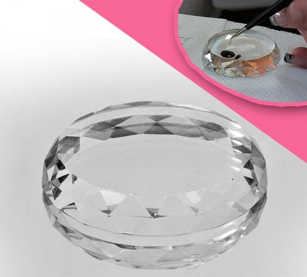 Kristallstein - Wimpernverlängerung
