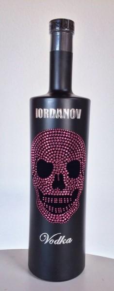 Vodka Black Edition P Totenkopf PINK 1L