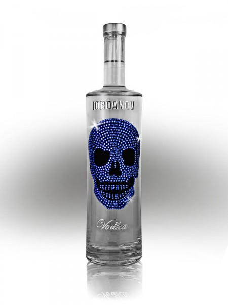 Vodka Blue Skull
