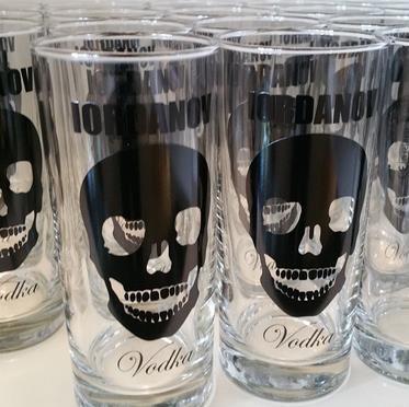 Vodka Glas 0,3 l Set mit 6 Stück