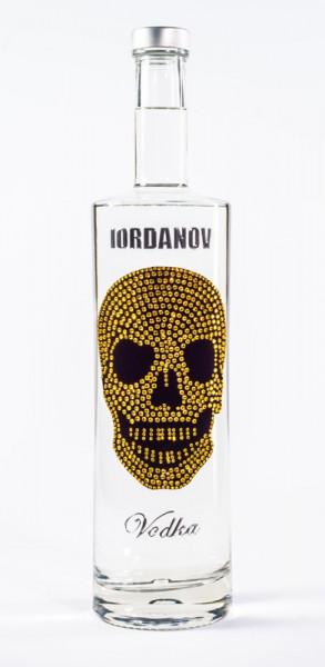Vodka Gold Skull